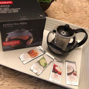 bodum-Kenya Tea Press Single Serve-loose Teas incl